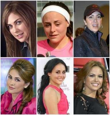 Bellas y famosas, sí, pero muy descuidadas en ocasiones. Aquí te traemos una pequeña selección de las famosas 'antes' y 'después' de una sesión de maquillaje. Y, ¿qué crees? A algunas, buena falta que les hizo. ¡Arranquemos!