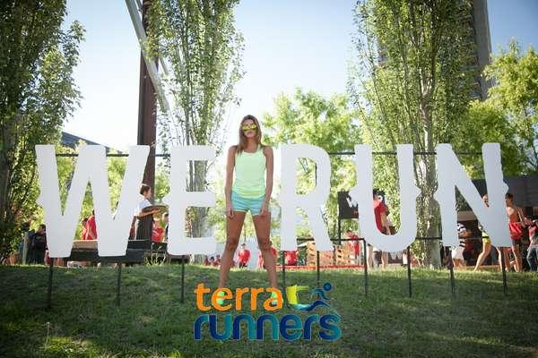 La actriz Calu Rivero, fanática de We Run Buenos Aires