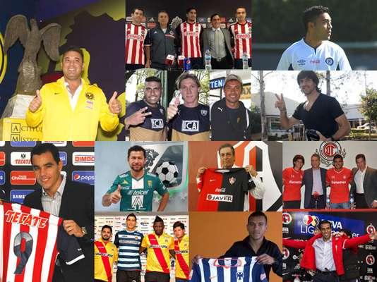 consulta los mejores movimientos rumbo al torneo de Clausura 2014