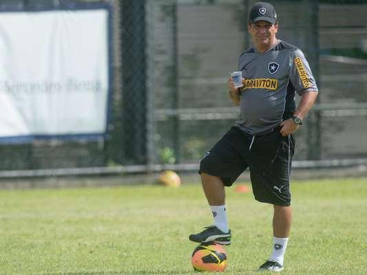 Agora comandado pelo técnico Eduardo Húngaro, promovido das categorias de base para substituir Oswaldo de Oliveira, Botafogo se reapresentou nesta segunda-feira aos treinos para a temporada 2014