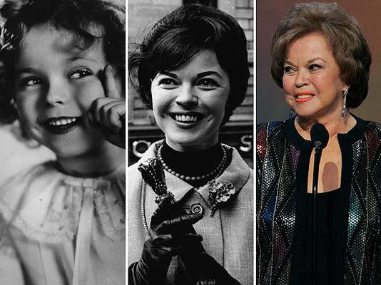 Shirley Temple murió en Estados Unidos. Es reconocida por ser la más famosa estrella infantil de todos los tiempos.