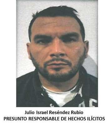 Julio Israel Reséndez Rubio, quien se encontraba visiblemente armado, fue detenido en las inmediaciones de la colonia Lomas de Agua Caliente.