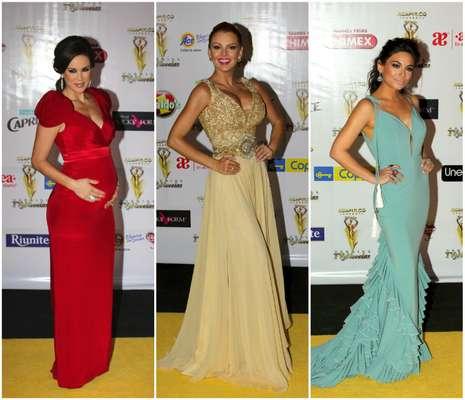 Todo el glamour y sensualidad en la alfombra roja de los Premios TVyNovelas 2014 México