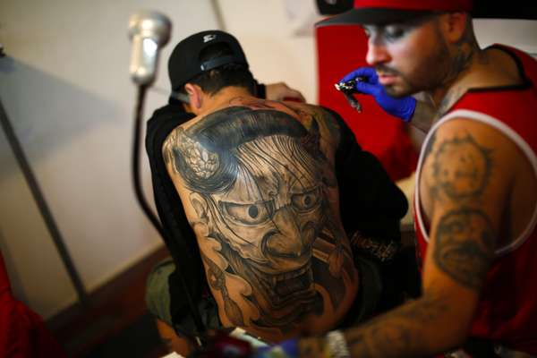 Tattoo Expo que acontece entre 29 de janeiro e 1 de fevereiro
