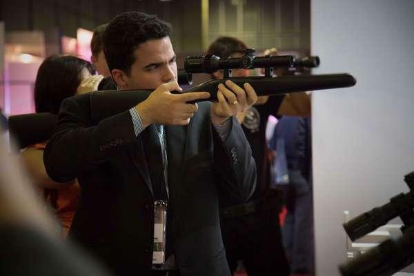 Na LAAD, Feira Internacional de Segurança é possível conhecer as principais novidades em armamentos