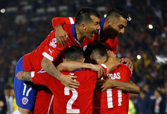 Chile estreia com o pé direito na Copa América