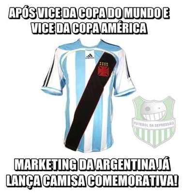 Veja memes de Chile x Argentina