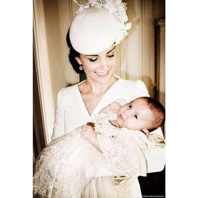 Foto de Kate Middleton com a filha