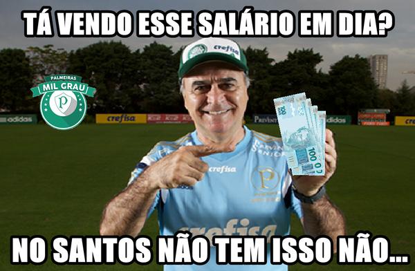 Ta Esbanjando Vitorias E Palmeiras Memes Zoam Santos