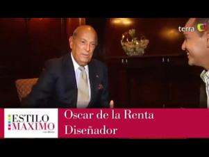 Oscar de la Renta:  Hay que ser elegante al desnudo