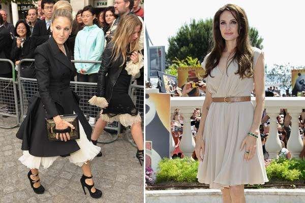 Angelina y Sarah Jessica: las mejor pagas y con el mejor...