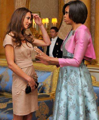 Kate Middleton Vs. Michelle Obama ¿quién gana en un duelo...