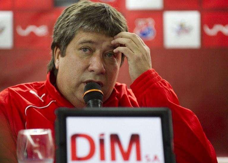 'Bolillo' Gómez consiguió su primera victoria con el DIM Foto: AFP