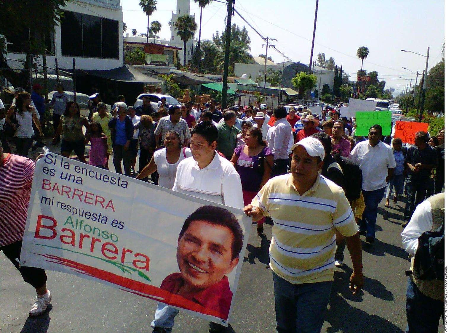 Llevan priistas de Morelos quejas al DF