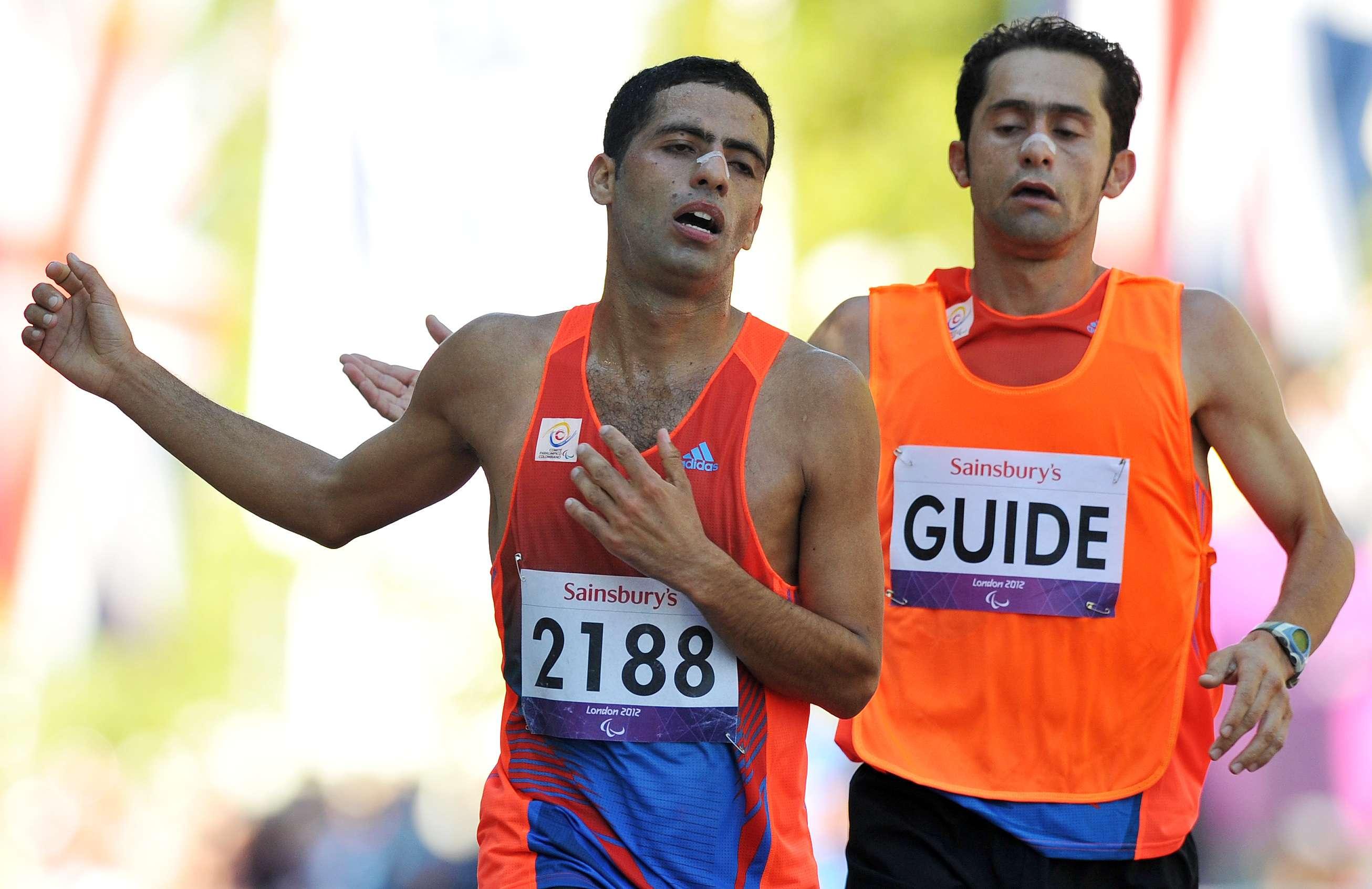 Colombiano Serna gana plata en cierre de Juegos Paralímpicos