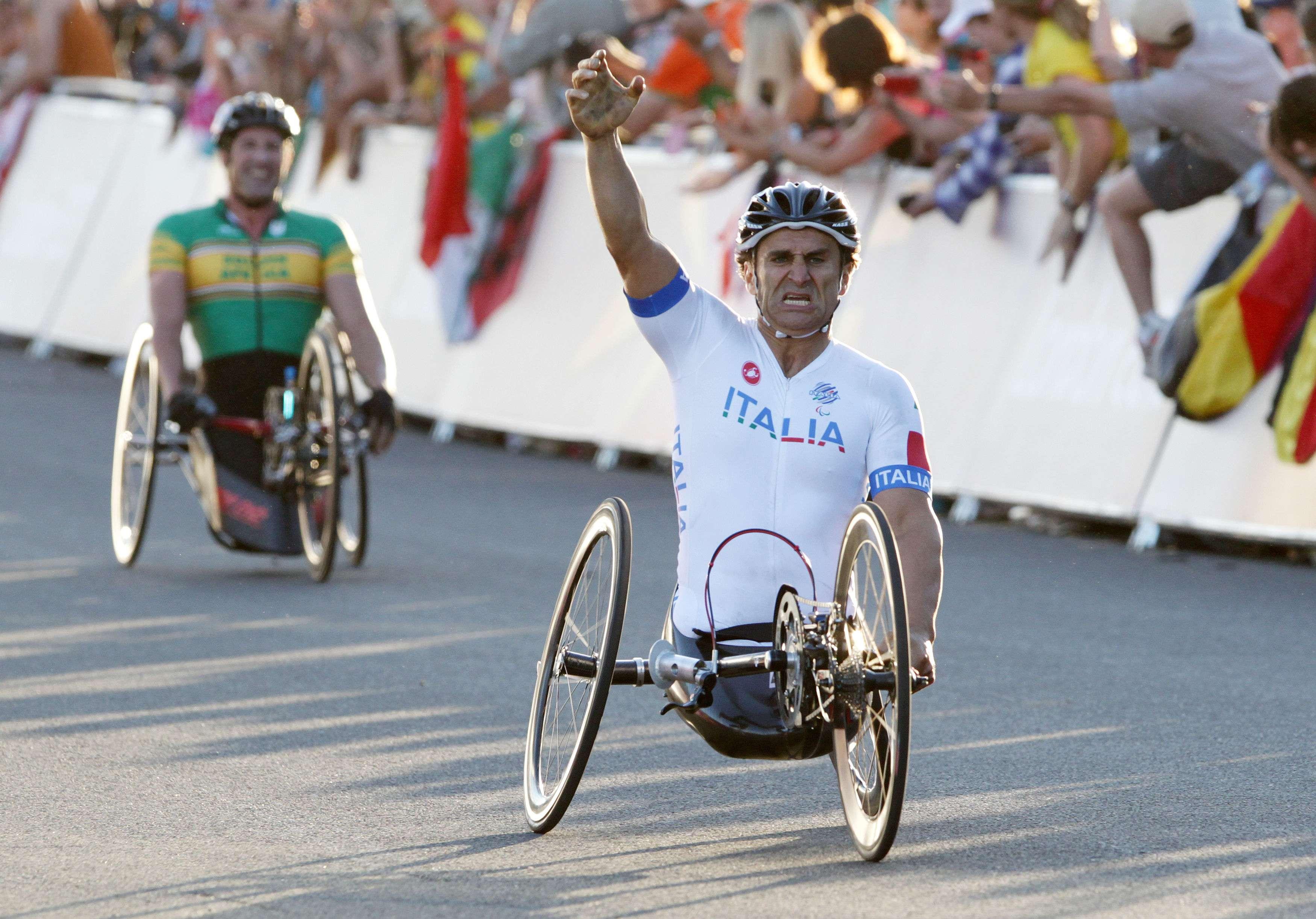 Alex Zanardi vive un final agridulce en los Paralímpicos
