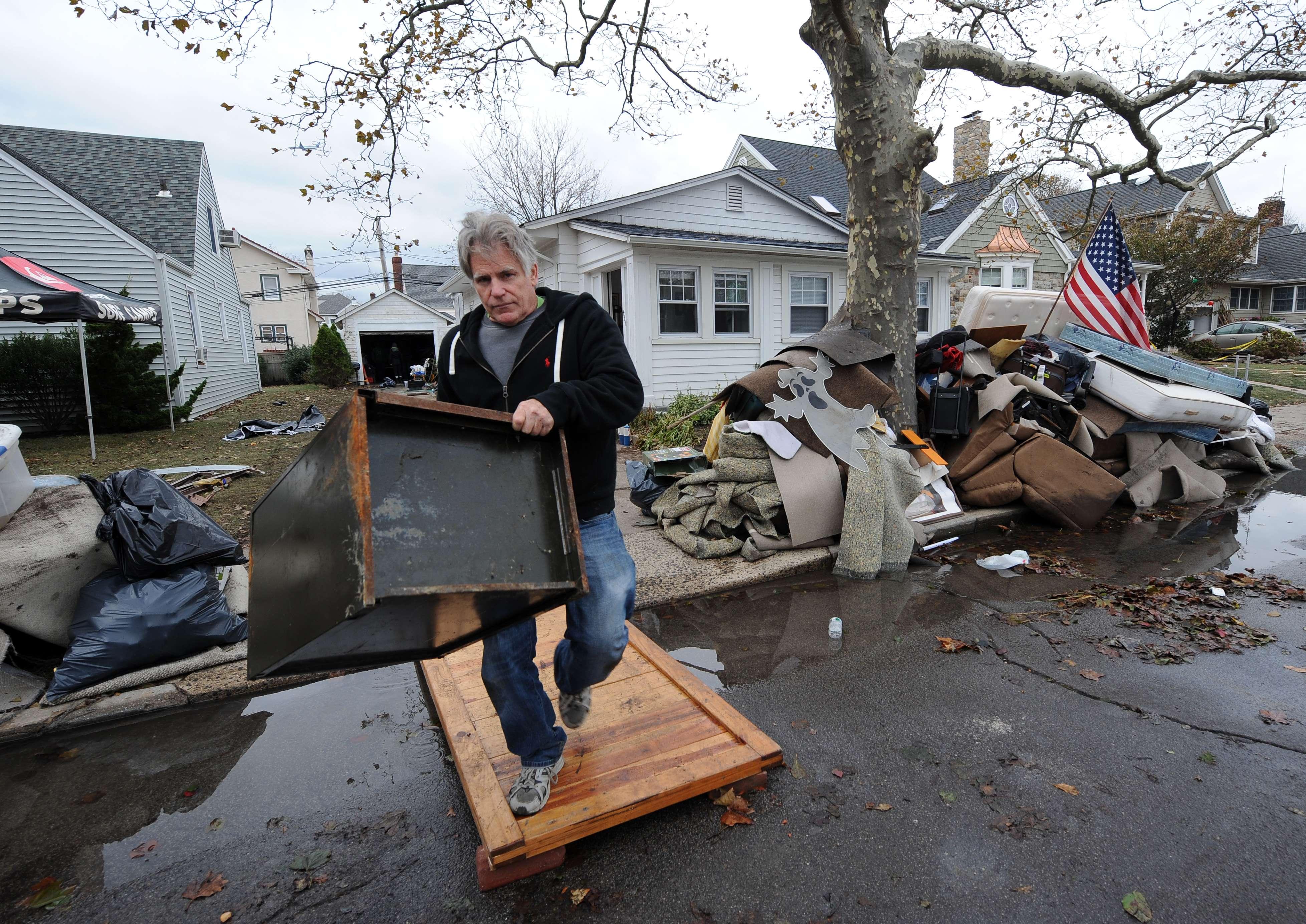 EE.UU. aprueba 3,4 mdd para afectados por 'Sandy'