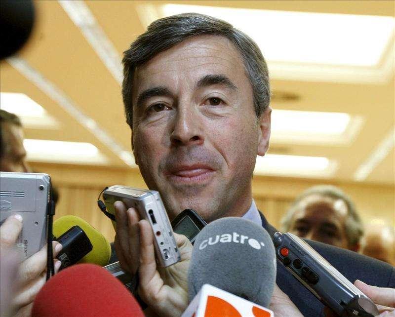 """El exministro de Interior Ángel Acebes declara hoy en el """"caso Bankia"""" Foto: Agencia EFE/EFE"""
