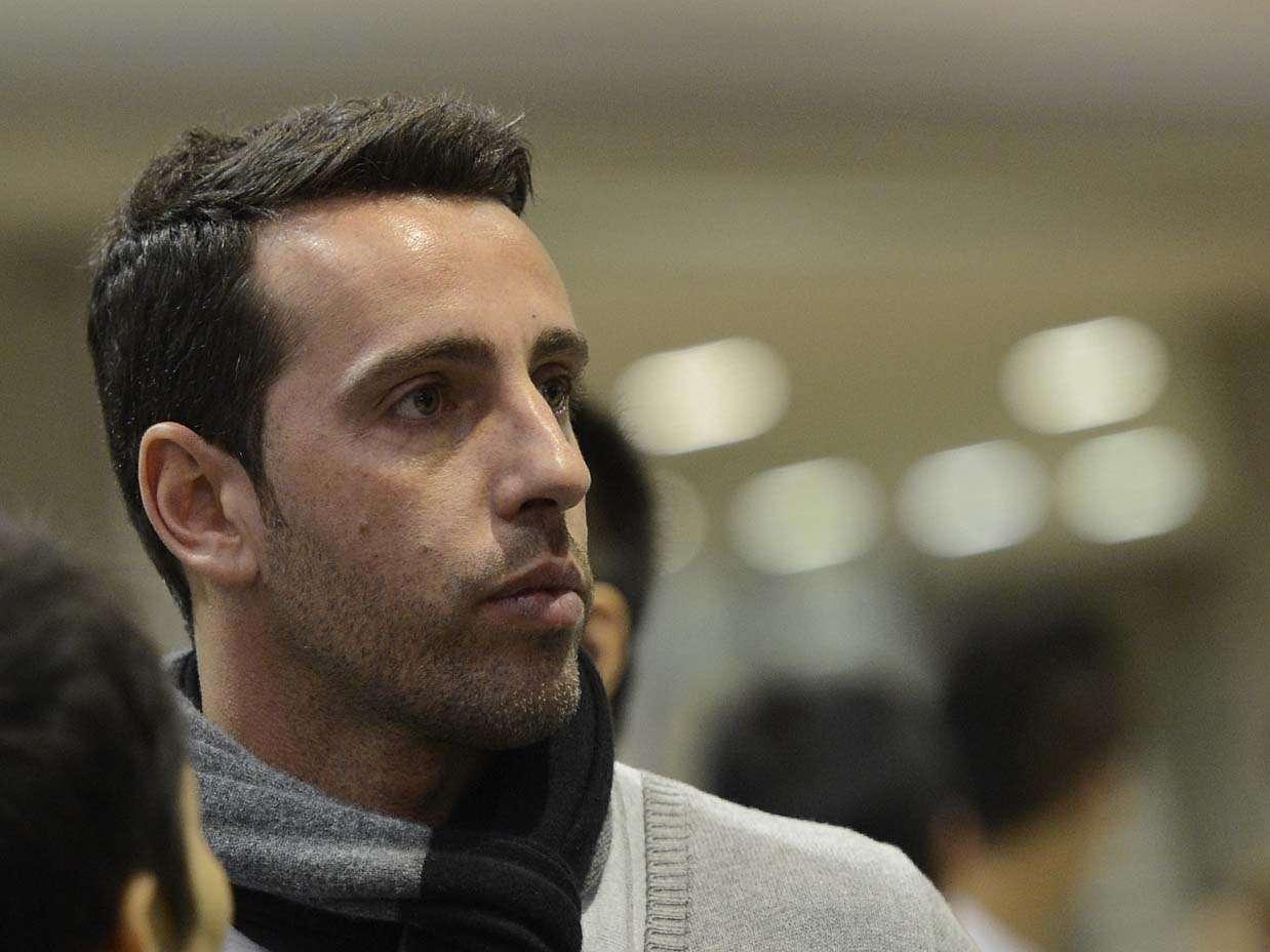Ex-meio-campista do Corinthians, Edu Gaspar é gerente de futebol do Corinthians Foto: Ricardo Matsukawa/Terra