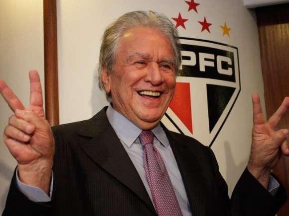"""Juvenal Juvencio, el presidente del """"Tricolor"""" se tomó en broma las agresiones sufridas por los jugadores de Tigre Foto: Web"""