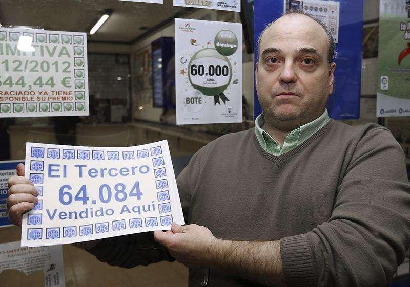 3º premio lotería de Navidad 2012