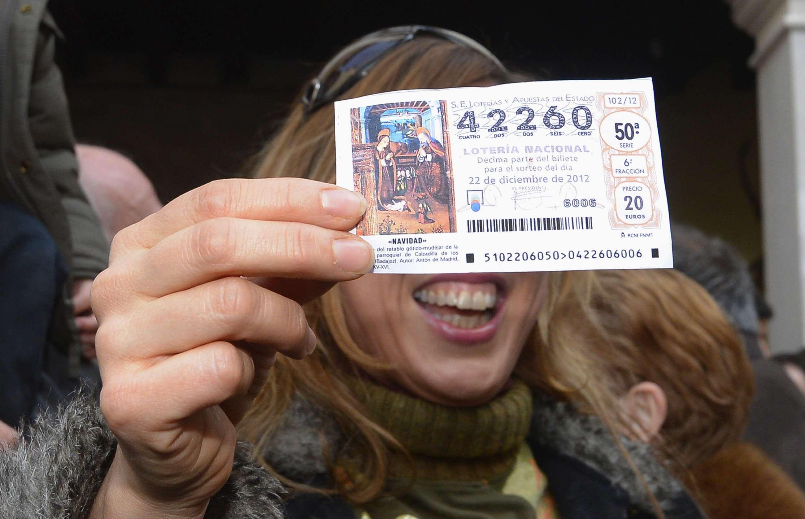 Segundo premio lotería de Navidad 2012
