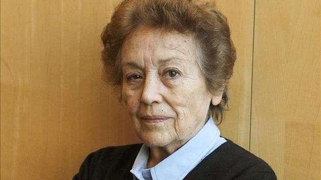 Amparo Baró, Medalla de Oro de las Bellas Artes Foto: EFE