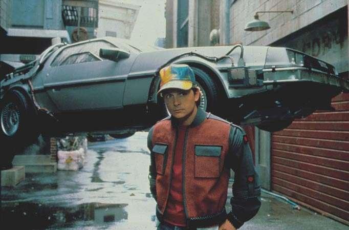 """Los autos voladores de """"Volver al Futuro son un concepto que está tocando la puerta Foto: Reproducción"""