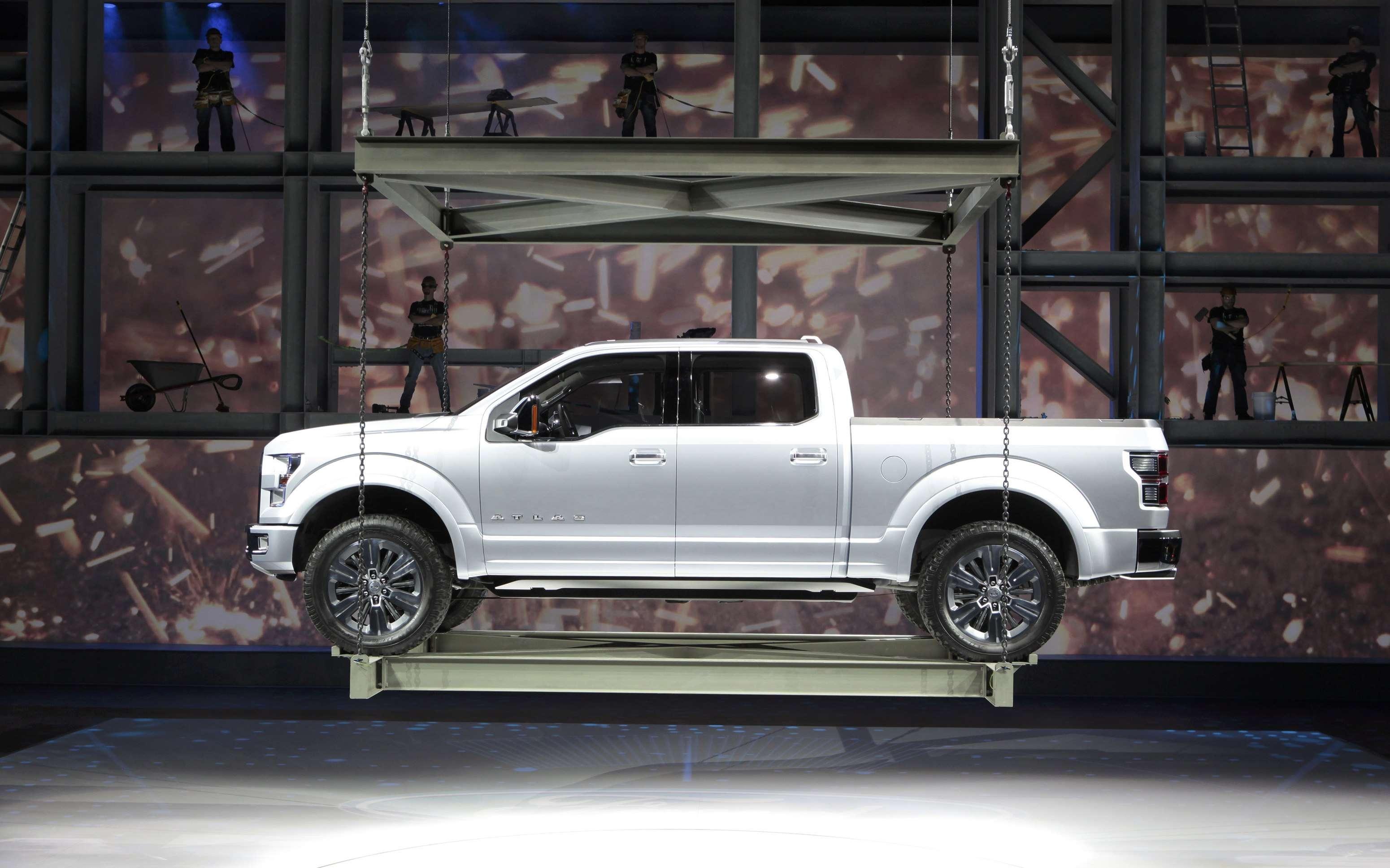Ford mostra a conceito Atlas, uma picape ao gosto americano