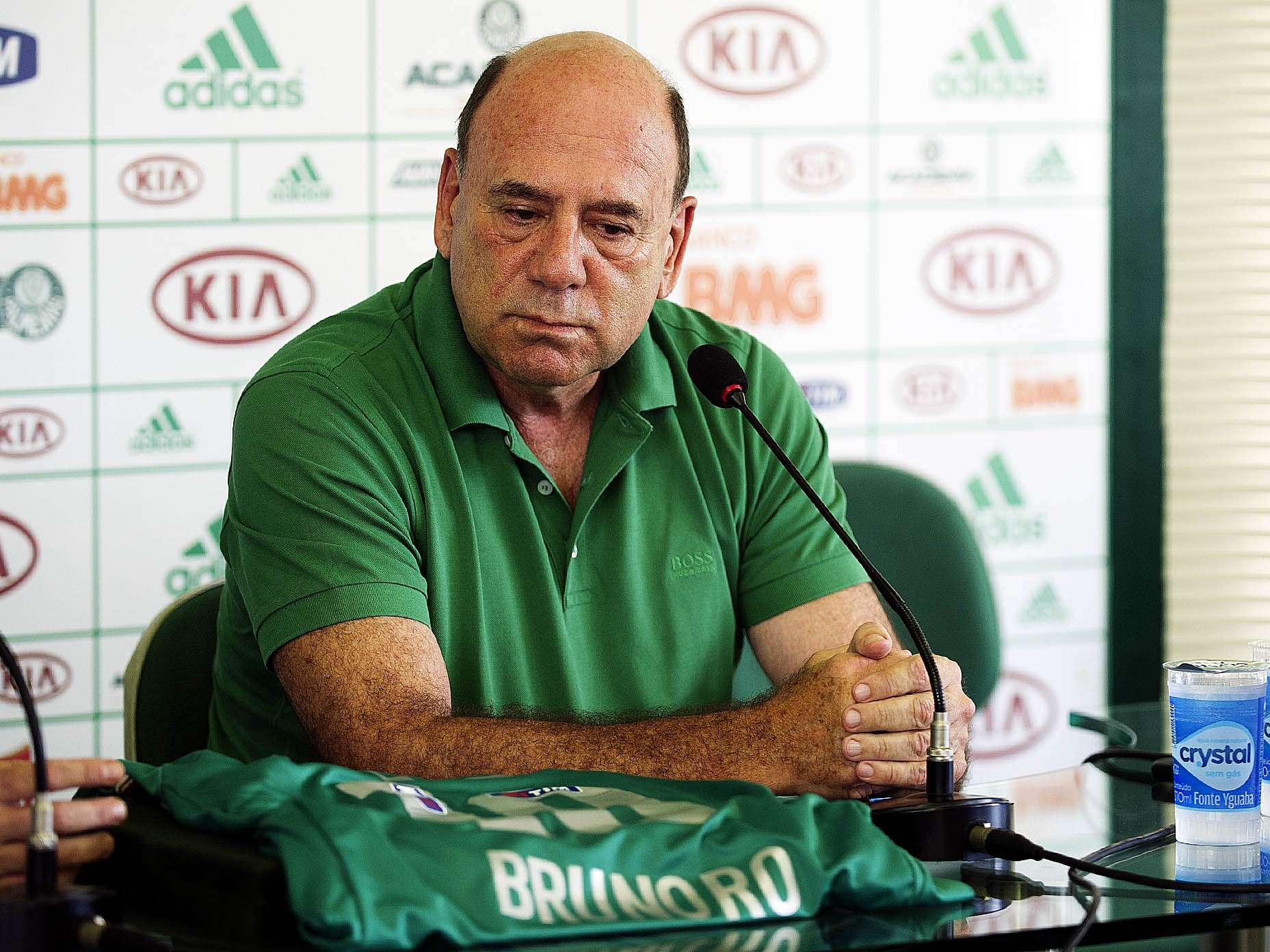 José Carlos Brunoro foi apresentado nesta quinta-feira como novo diretor executivo de futebol do Palmeiras Foto: Bruno Santos/Terra