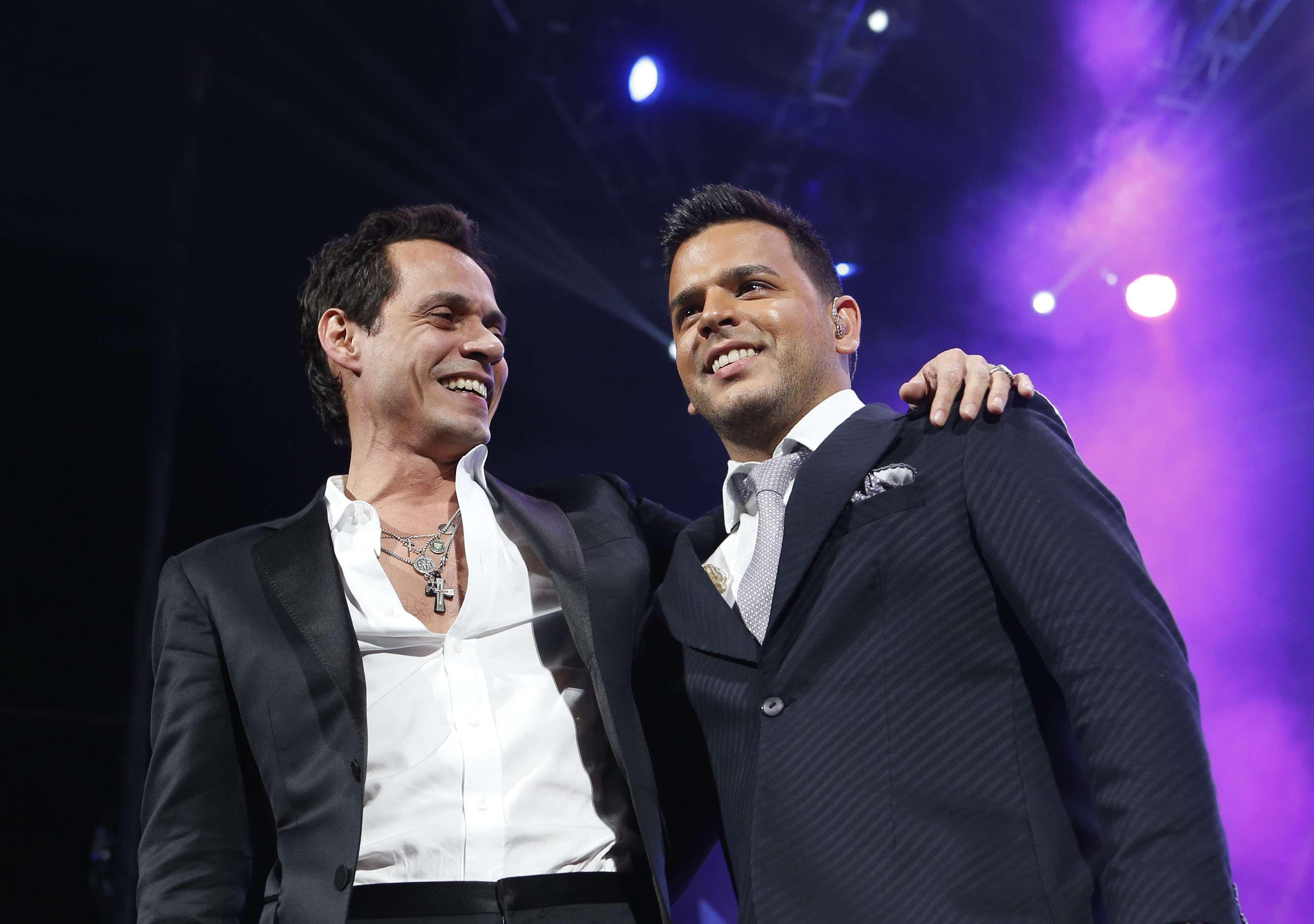 """Marc Anthony y Tito """"El Bambino"""" hacen dúo explosivo en NY"""