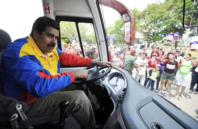 Oposición es heredera de Hitler, asegura Maduro