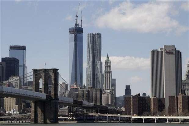 La azotea estará a 417 metros de altitud, la altura exacta de las antiguas Torres Gemelas. Foto: EFE