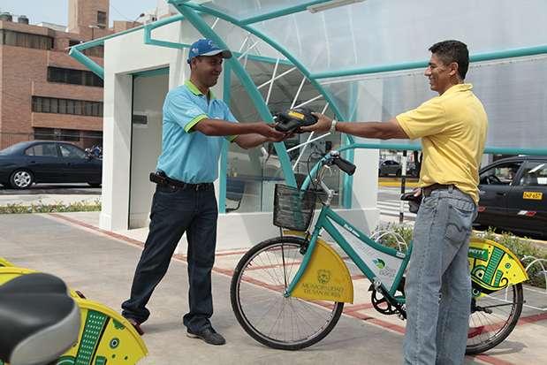 Municipalidad de San Borja ofrece bicicletas a sus vecinos en calidad de préstamo. Foto: Municipalidad de San Borja