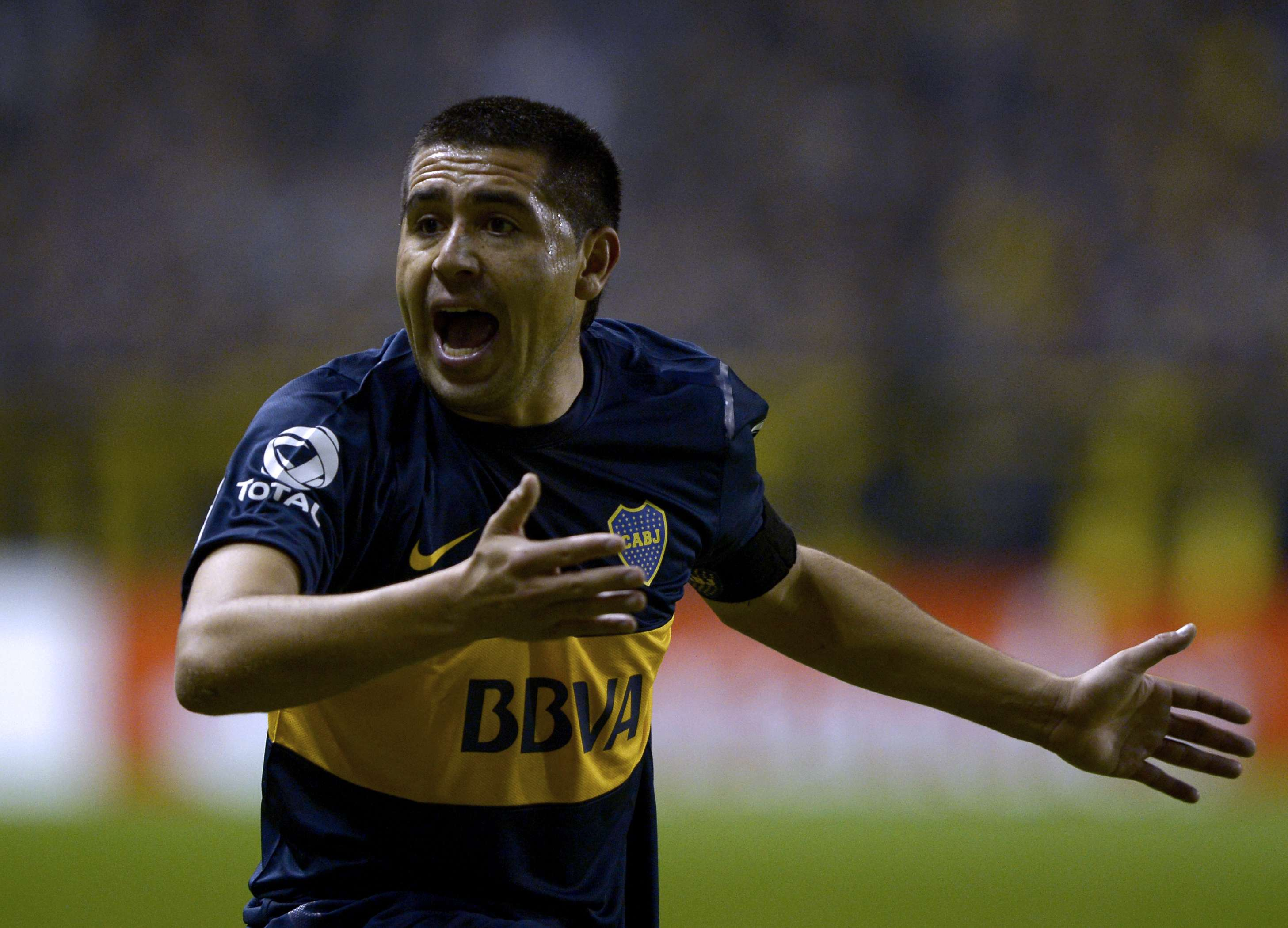 Juan Roman Riquelme and Boca could not beat Newell's at home. Foto: Getty Images