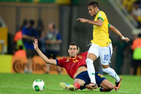 Neymar Balón de Oro; Iniesta de Plata y Paulinho de Bronce