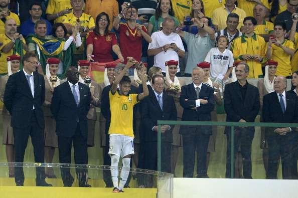 """Neymar: """"Para muchos el título era una cosa imposible"""""""