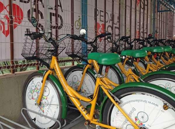 Bicicletário Foto: Divulgação