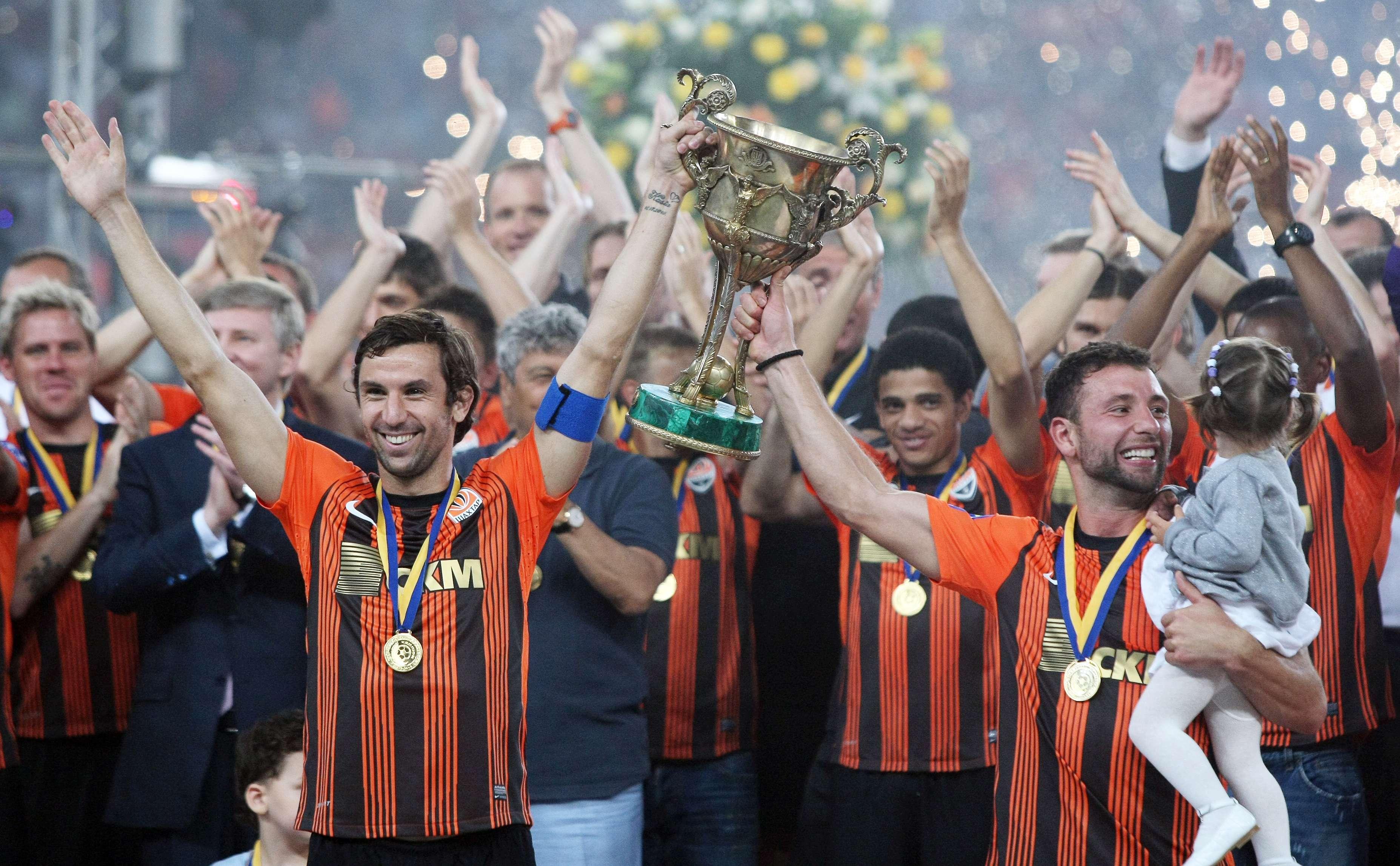 Shakhtar Donetsk, una vez más campeón de Ucrania