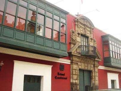Sede del Tribunal Constitucional. Foto: Andina