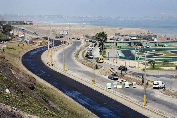 Costa Verde en Magdalena del Mar Foto: Andina