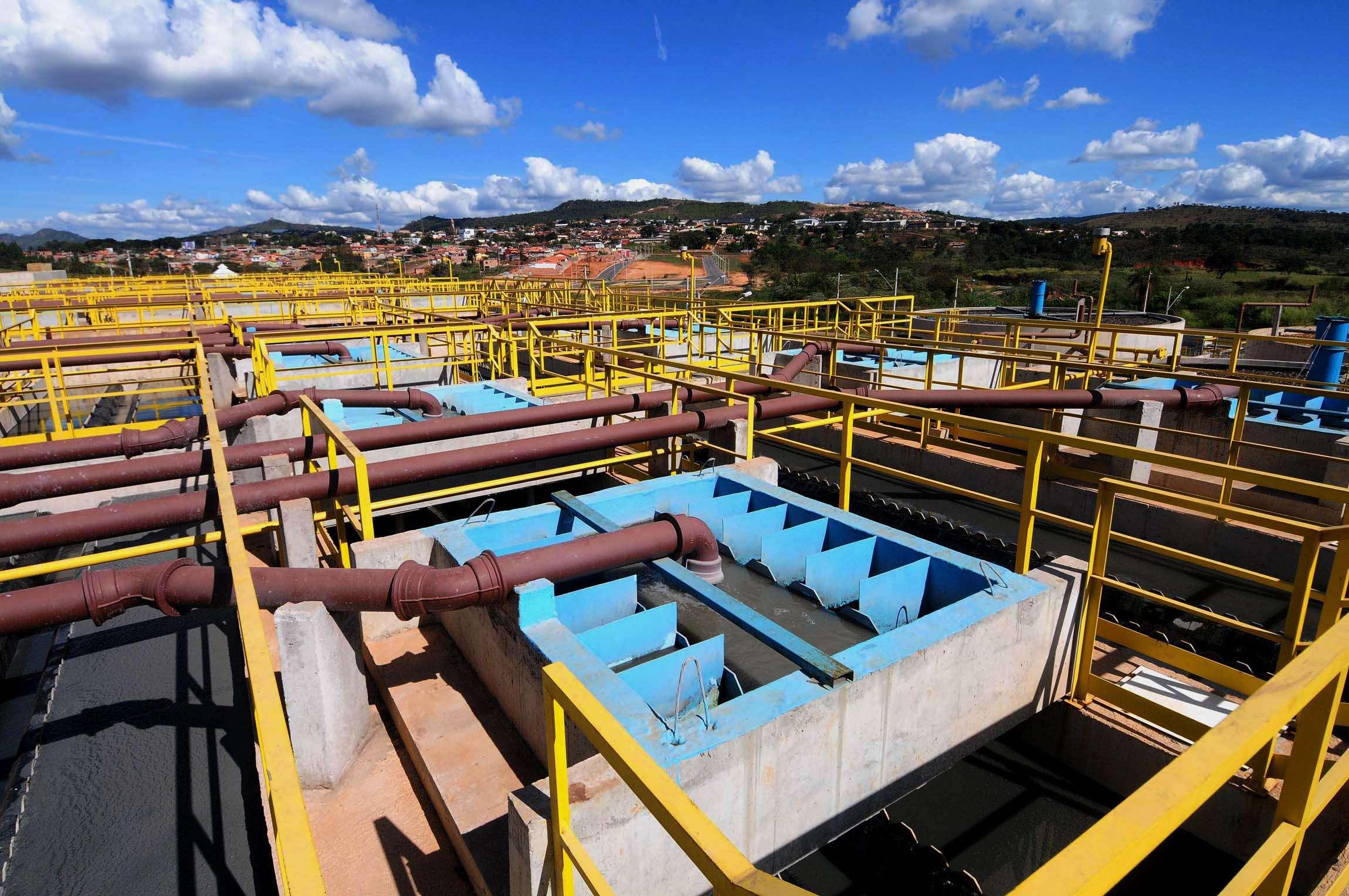 Copasa inicia nova fase de execução das obras do sistema de esgotamento sanitário de Nanuque Foto: Omar Freire/Imprensa MG