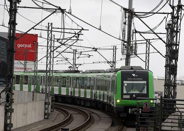 Nuevos vagones que circularán por el Metro de Lima Foto: Andina