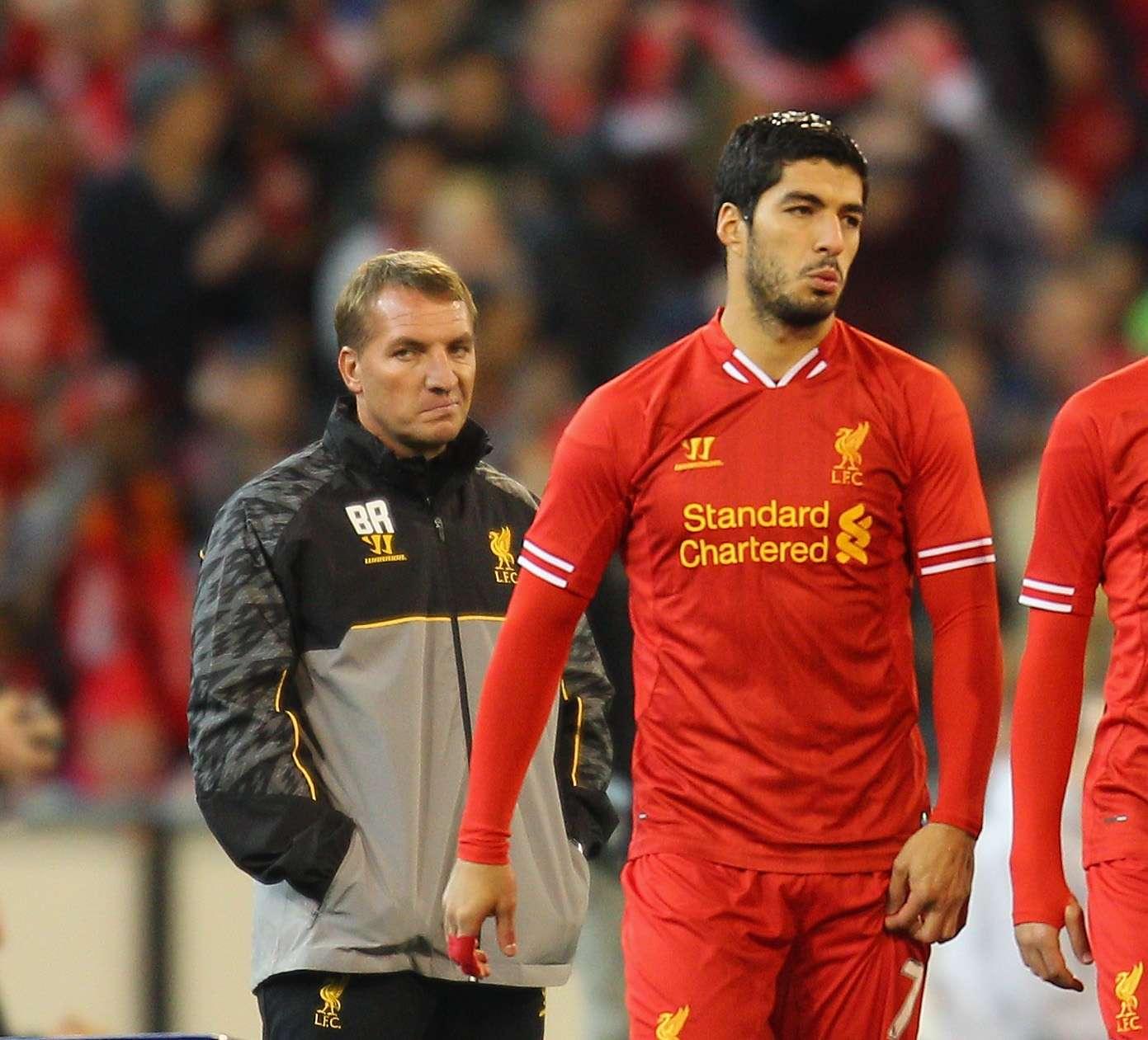 Rodgers aún quiere contar con Suárez Foto: Getty Images