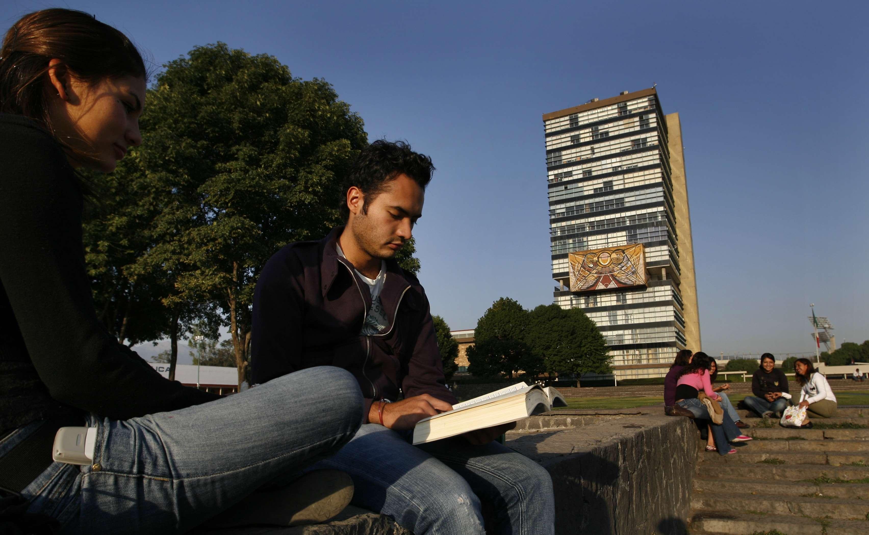 La Universidad Nacional Autónoma de México entró en esta clasificación en 2012. Foto: Archivo/AP en español