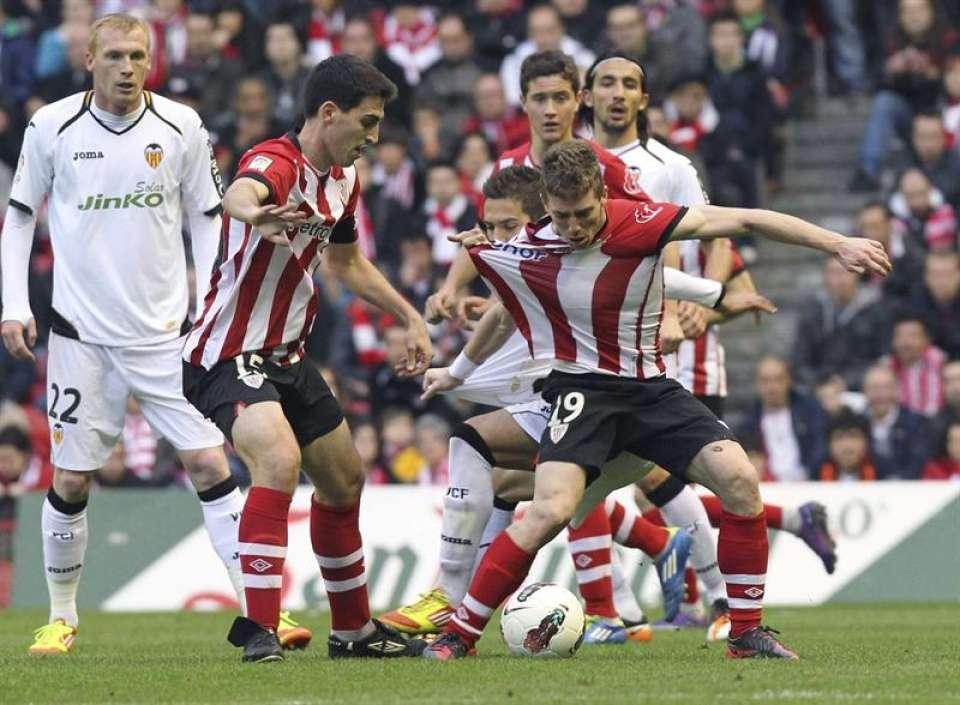 El Athletic jugará en domingo en San Mamés ante el Valencia