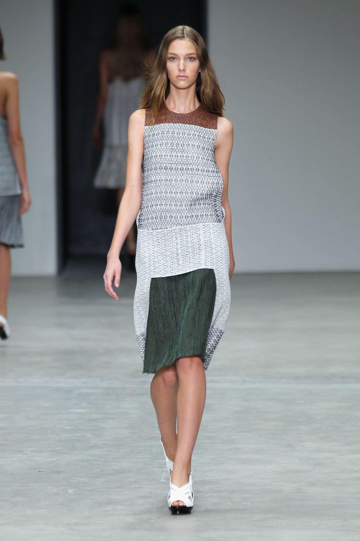 MBFWNY: Calvin Klein sorprende con texturas y colores