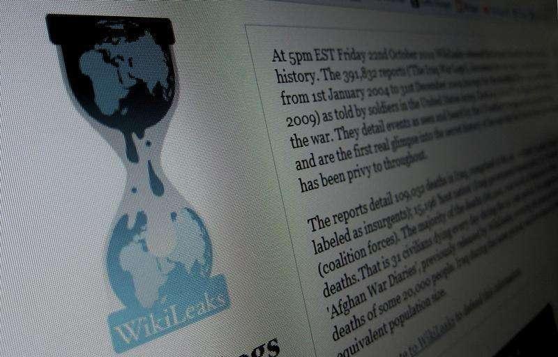El servidor utilizado por la organización en defensa de la transparencia WikiLeaks cuando en 2010 publicó documentos secretos sobre las guerras en Irak y Afganistán, así como un enorme lote de despachos diplomáticos fue vendido el jueves por 33.000 dólares (unos 24.000 euros). En la imagen, la página de Wikileaks.org en un ordenador de Hoboken, Nueva Jersey, el 28 de noviembre de 2010. Foto: Gary Hershorn/Reuters