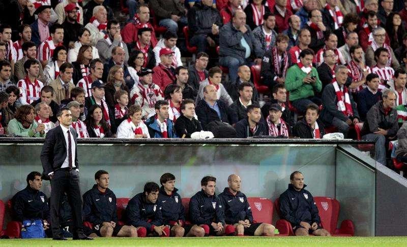 """Valverde: """"El inicio del partido ha sido muy emocionante"""""""