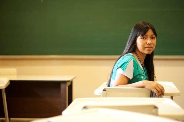 Indígenas na universidade